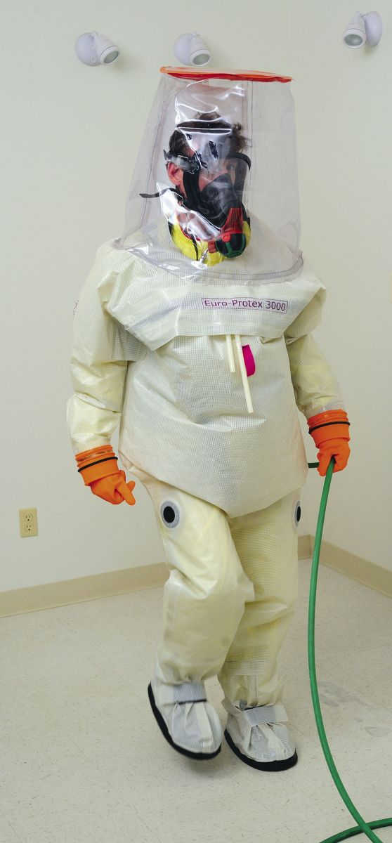 3907 Level B Suit with Respirator