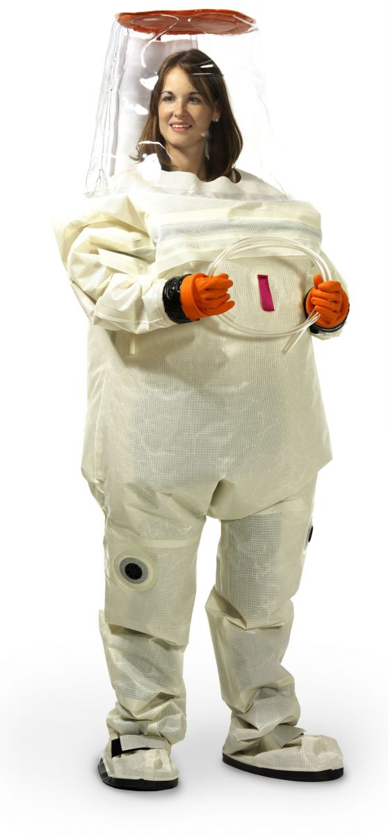 3907 Level B Suit shown without respirator