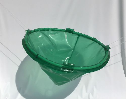 Green Translucent Polyester Polyurethane Drip Funnel